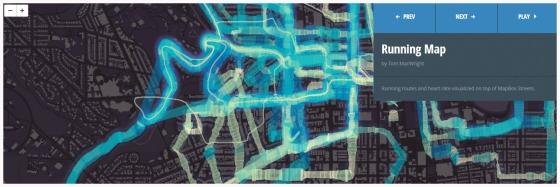 Running Map oleh Tom MacWright