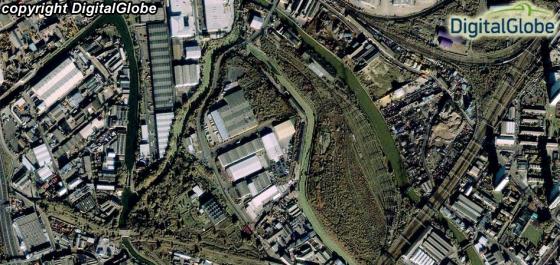 Progres Pembangunan Stadion dan Venue Olimpiade Musim Panas di London, InggrisIkonos Tanggal Perekaman 4 November 2010