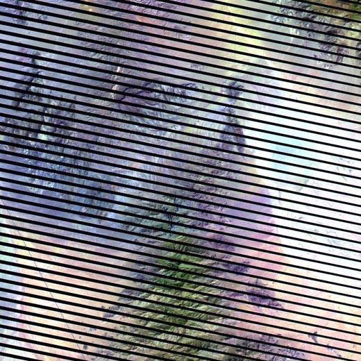 Gambar 3. Citra Satelit Landsat 7 Area Dolan Springs, Arizona – Amerika Serikat (sumber : http://landsat.usgs.gov/LDCM_Underfly_with_Landsat_7.php)