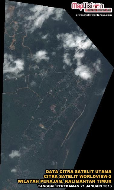 Jual Data Citra Satelit WorldView-2 Beserta Pengolahannya