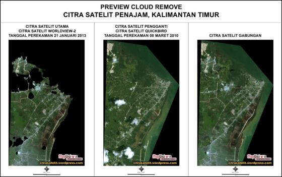 Jual Citra Satelit DigitalGlobe Beserta Pengolahannya
