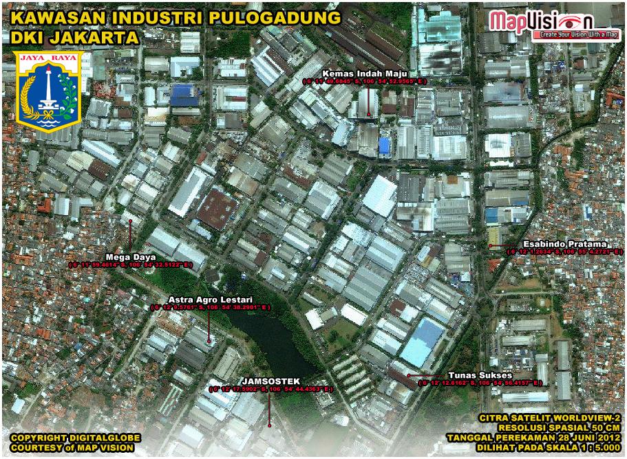 Daftar Alamat Perusahaan Di Kawasan Industri Pulogadung - Kawasan