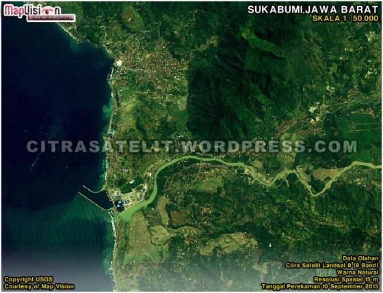 Citra Satelit LANDSAT 8