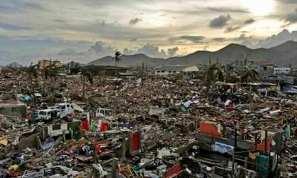 Gambar 4. Pemukiman Penduduk Sudah Menjadi Puing