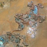 Gambar 12. Citra Satelit Penambangan Uranium di Arlit – Niger Tanggal Perekaman 13 Februari 2013
