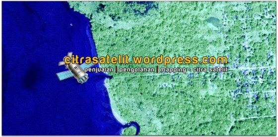 Gambar 10. Tampilan Data Citra Satelit Warna Merah Semu (RGB – 432)