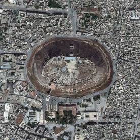 Gambar 20. Citra Satelit The Citadel of Aleppo di Suriah Tanggal Perekaman 26 Mei 2013