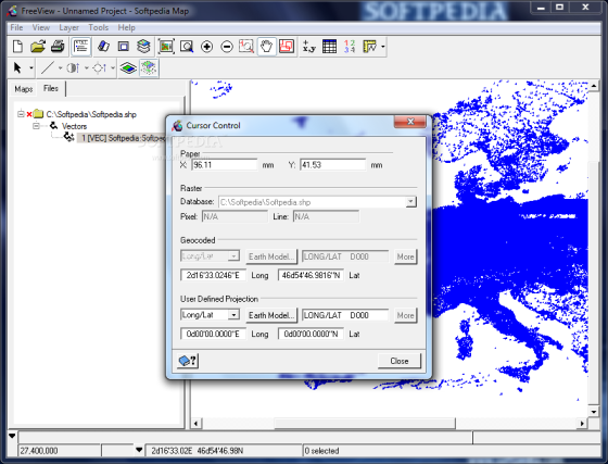 Gambar 1. Screen Shoot Software PCI Geomatia FreeView 2013 (Sumber : http://www.softpedia.com/progScreenshots/Geomatica-FreeView-Screenshot-168052.html)