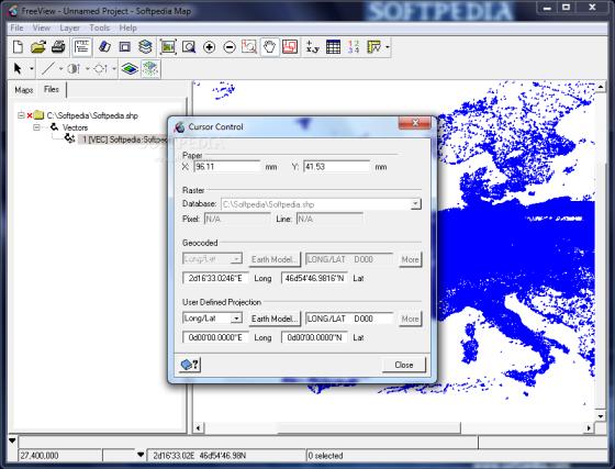 Gambar 1. Screen Shoot Software PCI Geomatia FreeView 2013 (Sumber : http://www.softpedia.com/progScreenshots/Geomatica-FreeView-Screenshot-168052.html)