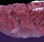 3D View Wilayah Arena Sochi Olympic Park Yang Direkam Menggunakan Satelit Terra - Credit: NASA/GSFC/METI/ERSDAC/JAROS, and U.S./Japan ASTER Science Team