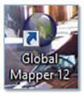 Gambar 2. Buka Software Global Mapper v12.01