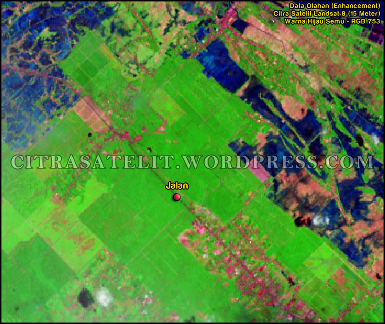 services kombinasi warna data citra satelit map vision