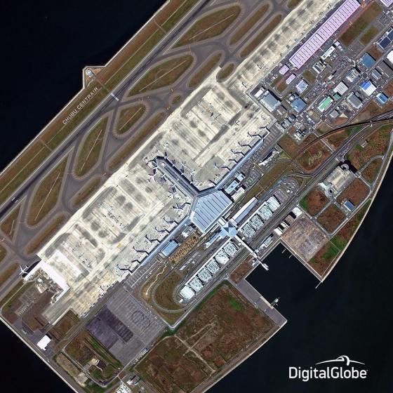 Jasa Jual Desain World Map: Melihat Bandara Dari Angkasa (Bagian II)