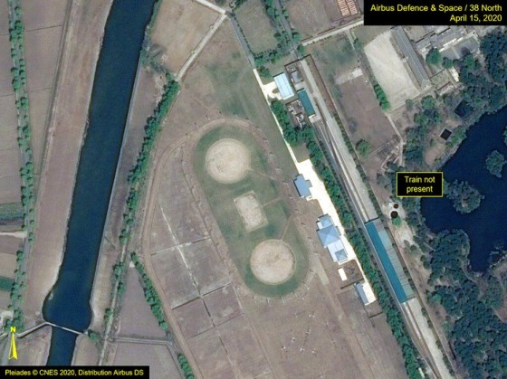 Citra Satelit Pleiades Kota Wonsan