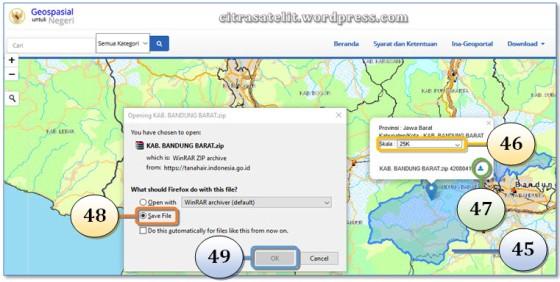 Download Peta RBI per Wilayah
