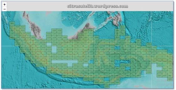 Peta RBI Siap Cetak Skala 250 Ribu