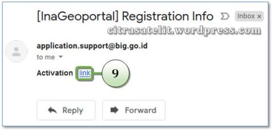 Link Aktivasi Dikirim Ke E-mail