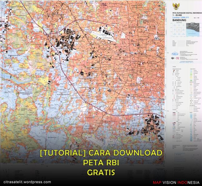 Cara Download Peta RBI Gratis