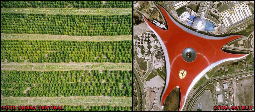 Foto Udara dan Citra Satelit